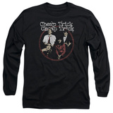 Long Sleeve: Cheap Trick- Distressed Band Potrait Long Sleeves