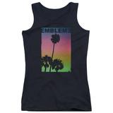 Juniors Tank Top: Emblem3- Palms Stamp T-shirts