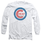 Long Sleeve: Cheap Trick- Distressed Logo Button Long Sleeves