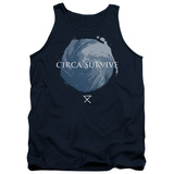 Tank Top: Circa Survive- Storm Pattern Tank Top