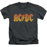 Juvenile: AC/DC- Gold Block Logo T-Shirt