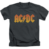 Juvenile: AC/DC- Gold Block Logo T-shirts