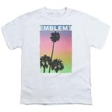 Youth: Emblem3- Palms Stamp T-shirts