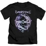 Juvenile: Evanescence- Thorny Radiant Logo Shirt