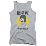 Juniors Tank Top: Bobs Burgers- Trust Lisa T-shirts