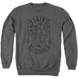 Crewneck Sweatshirt: Asking Alexandria- The Finest Crest Shirts