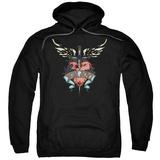 Hoodie: Bon Jovi- Heart & Dagger Tattoo Pullover Hoodie