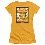 Juniors: Always Sunny In Philadelphia- Sunny Quotes T-Shirt