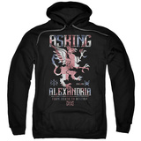 Hoodie: Asking Alexandria- Death To Destiny Crest Pullover Hoodie