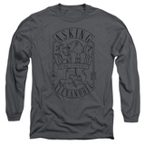 Long Sleeve: Asking Alexandria- The Finest Crest T-shirts