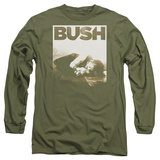 Long Sleeve: Bush- Floored T-Shirt