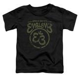 Toddler: Emblem3- Namaste Here Distressed T-Shirt