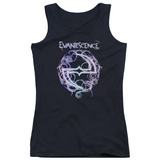 Juniors Tank Top: Evanescence- Thorny Radiant Logo Shirts