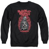 Crewneck Sweatshirt: Black Veil Brides- Santa Muerte T-Shirt
