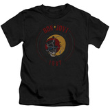 Juvenile: Bon Jovi- Skull & Moon 1987 T-Shirt