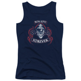Juniors Tank Top: Bon Jovi- Forever Distressed T-Shirt