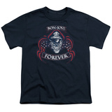 Youth: Bon Jovi- Forever Distressed T-Shirt