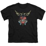 Youth: Bon Jovi- Heart & Dagger Tattoo T-shirts