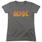 Womens: AC/DC- Gold Block Logo Shirts