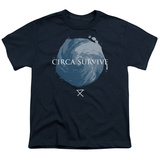 Youth: Circa Survive- Storm Pattern T-shirts