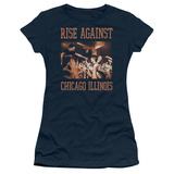 Juniors: Rise Against- Chicago Live Shirts