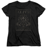 Womans: The Word Alive- Show No Mercy Stamp T-shirts