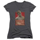Juniors: Sandlot- Scotty Stamp V-Neck T-shirts