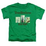Toddler: ZZ Top- Tres Hombres Album Art Shirts