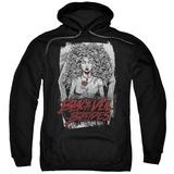 Hoodie: Black Veil Brides- Coffin Queen Pullover Hoodie