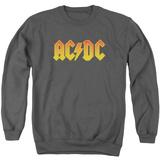 Crewneck Sweatshirt: AC/DC- Gold Block Logo Shirts