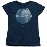 Womans: Circa Survive- Storm Pattern Shirts