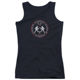 Juniors Tank Top: American Horror Story- Coven Minotaur Sigil Womens Tank Tops