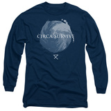 Long Sleeve: Circa Survive- Storm Pattern Long Sleeves