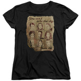 Womans: Firefly- Can'T Take The Sky Poster T-Shirt