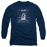 Long Sleeve: AC/DC- Ballbreaker Album Cover T-shirts