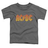Toddler: AC/DC- Gold Block Logo Shirts