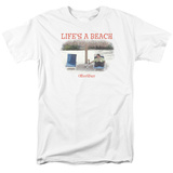 Office Space- Life Is A Beach Shirts