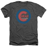 Cheap Trick- Distressed Logo Button T-Shirt