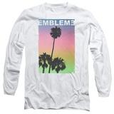Long Sleeve: Emblem3- Palms Stamp Shirt
