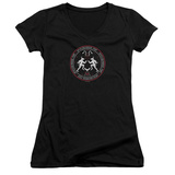 Juniors: American Horror Story- Coven Minotaur Sigil V-Neck Womens V-Necks