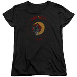 Womans: Bon Jovi- Skull & Moon 1987 T-Shirt