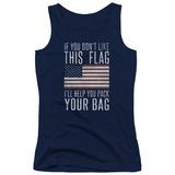 Juniors Tank Top: Pack & Go (Unamericana) T-Shirt