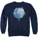 Crewneck Sweatshirt: Circa Survive- Storm Pattern T-Shirt