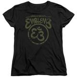 Womans: Emblem3- Namaste Here Distressed T-shirts
