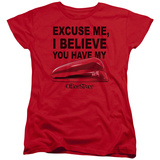 Womens: Office Space- You Have My Stapler T-Shirt