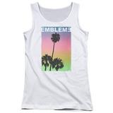 Juniors Tank Top: Emblem3- Palms Stamp Shirts