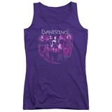 Juniors Tank Top: Evanescence- Faded Album Cover Shirts