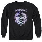 Crewneck Sweatshirt: Evanescence- Thorny Radiant Logo T-shirts