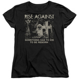 Womans: Rise Against- Die To Be Reborn T-Shirt