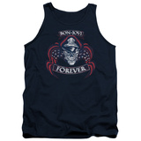 Tank Top: Bon Jovi- Forever Distressed Tank Top